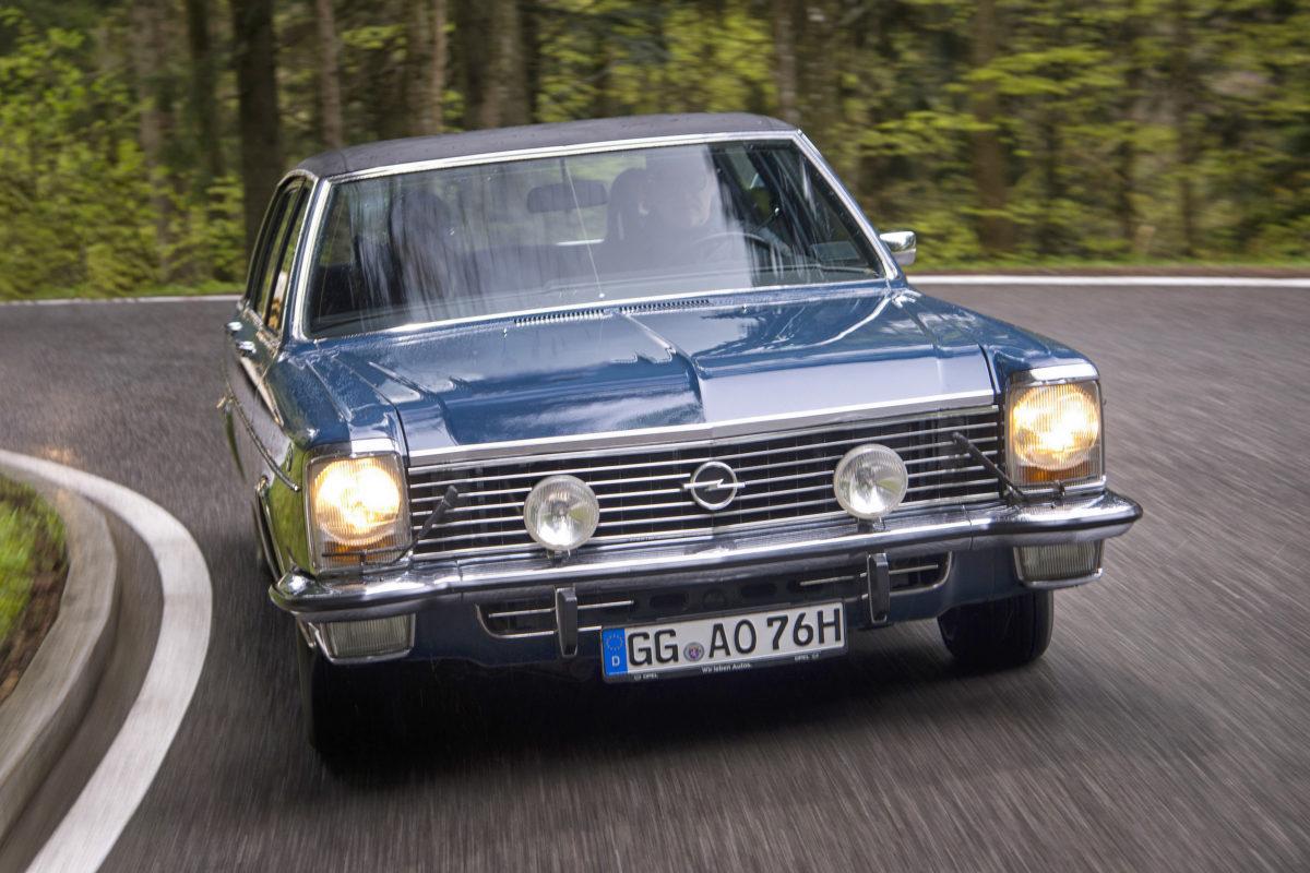 Opel-Klassiker bei der Rallye Hessen-Thüringen