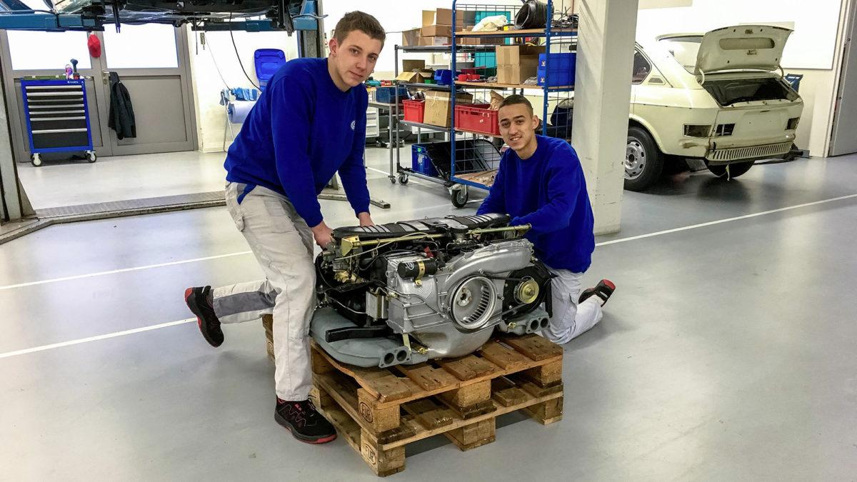 Volkswagen Classic: apprentices restore Type 3 VW 1600 TL