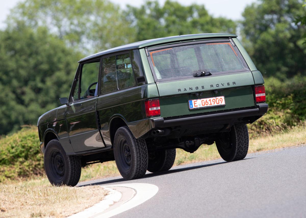 Individuell restaurierter Range Rover I von 1979.