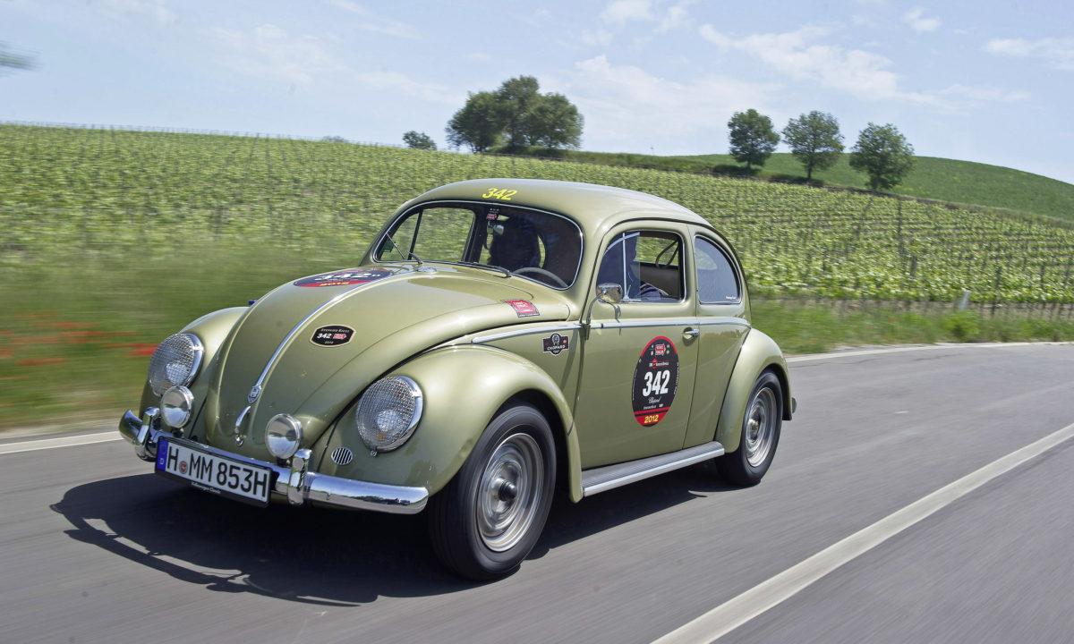 """1956 Ovali Käfer """"Mille Miglia"""""""