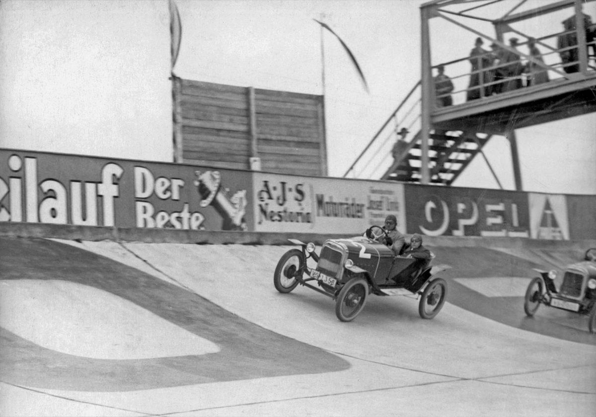 Opel Rennbahn von 1920