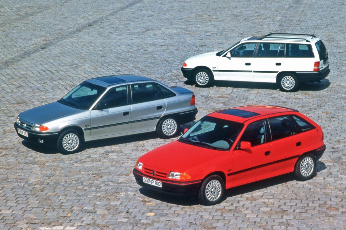 Opel Astra F (1991–1997).