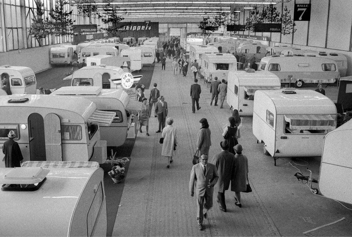 Caravan Salon in Essen.