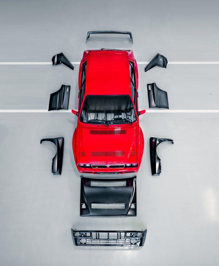 Lancia Delta HF Integrale Ersatzteile.