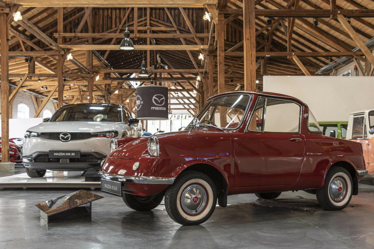Mazda-Museum in Augsburg.