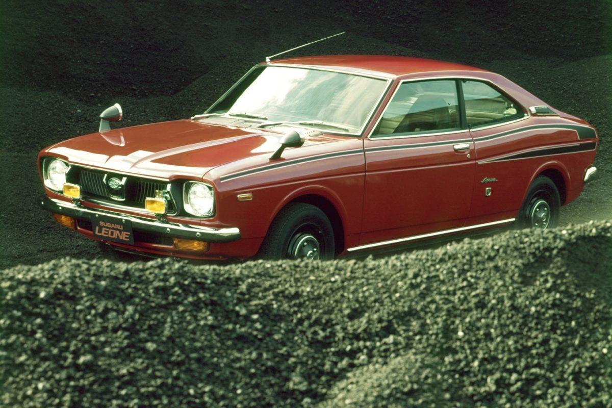 Subaru Leone Coupé von 1974.