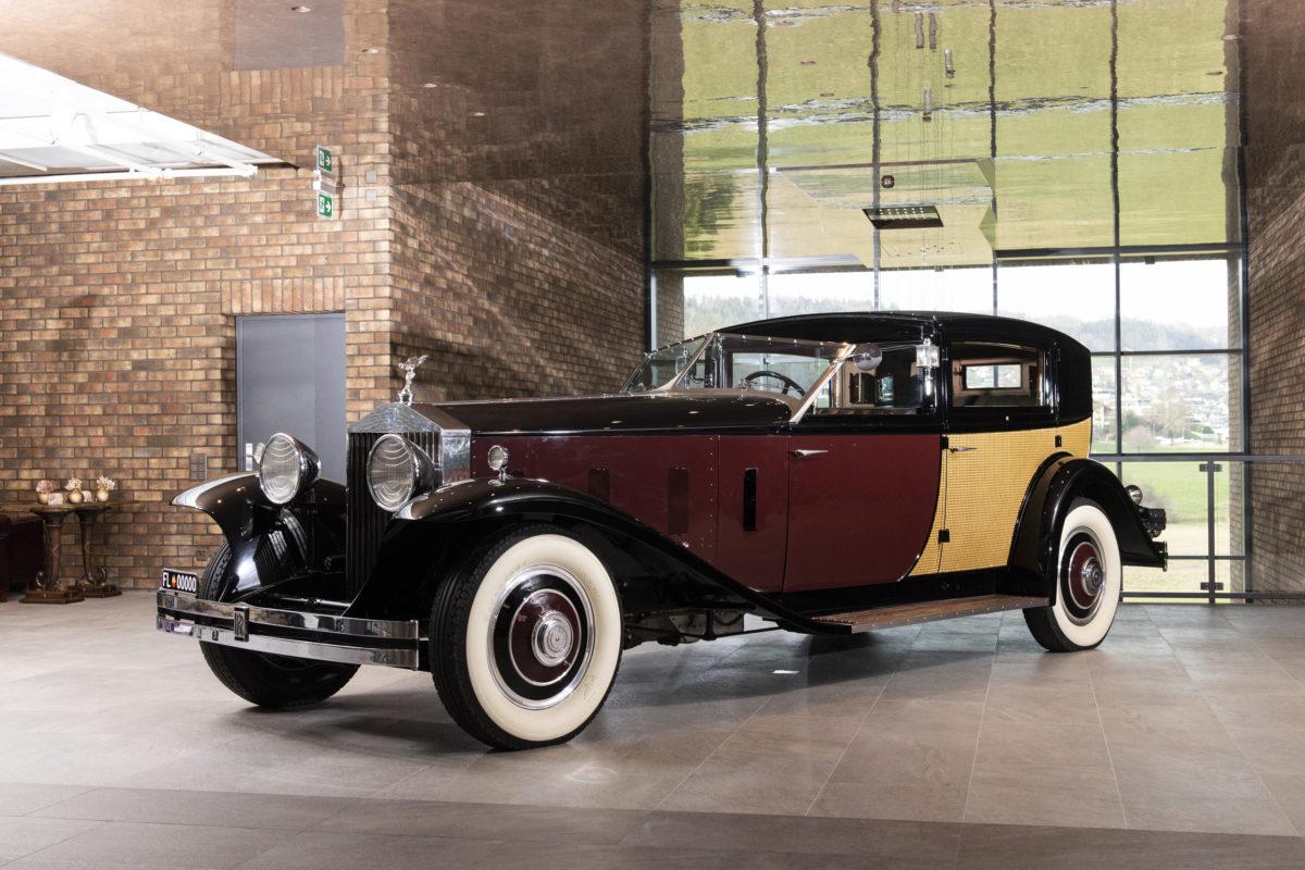 1933 Rolls-Royce Phantom II Special Brougham by Brewster.