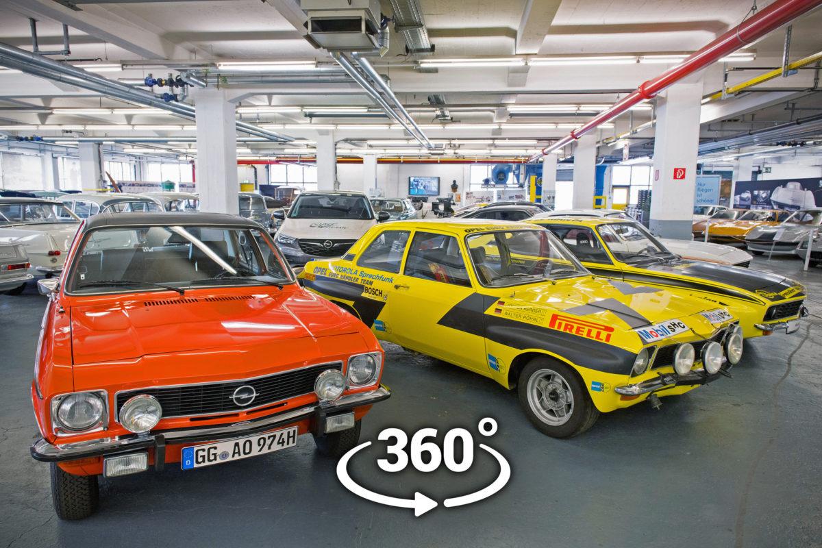 Opel Classic-Sammlung.