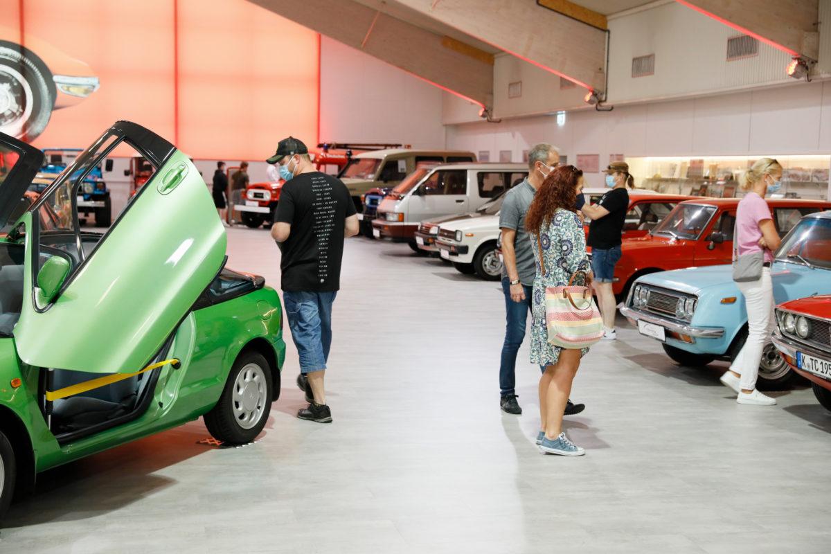 """Die """"Toyota Collection"""" in Köln."""