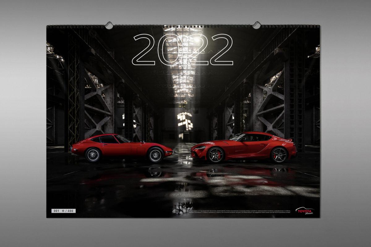 Toyota-Classic-Kalender 2022.