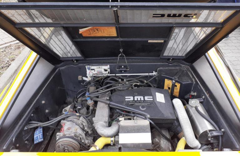 DeLorean DMC 12, Motor.