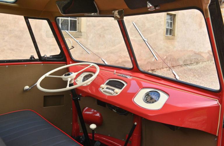 "VW Bulli ""Samba"" von 1954."